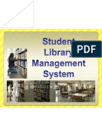 Student Library Management System