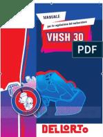 Dellorto VHSH30 Manual