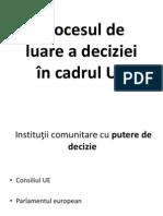 Procesul de Luare a Deciziei in Cadrul UE