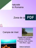 Zone Naturale Turistice Din Romania Campia