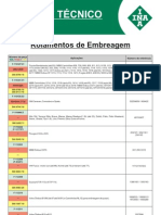 INA CONVERSAO DE ROLAMENTOS DE EMBREAGEM