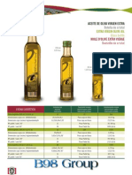 B98 Group Olive Oil Catalog
