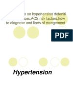 (5) Hypertension