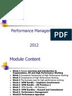 Performance Management Lecture 6 & 7 HR Practices