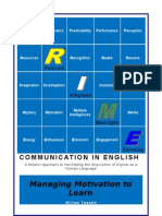3 - Managing Motivation to Learn Course Resource Book