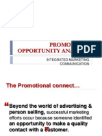 5 Promotions Opportunity Analysis COPY
