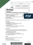 Biology unit 6 Jan 2012 question paper
