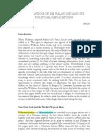 Adaptation of de Falsis Diis and its Political Implications