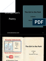The Girl in the Park, a poem by Ken Kunz