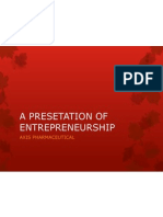 An Assigment of Entrepreneurship