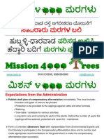 Mission 4000 Trees Objectives and Action Plan 2012May13