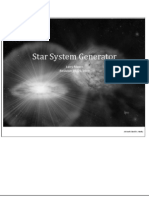 D&D Style Star System Generator