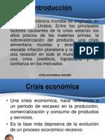 Crisis económica mundial actual