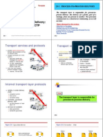 L12CN :Process-to-Process Delivery ,UDP, TCP, and SCTP.