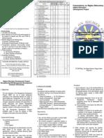 Ched Brochure_graduate Management Program_ A