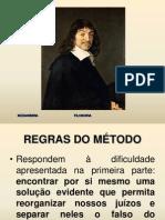 REGRAS DO MÉTODO - DESCARTES - TEXTO