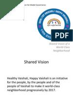 Shared Vision of a World Class Neighborhood