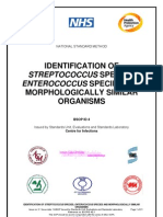 Identification of Streptococcus Species, Enterococcus Species and Morphologically Similar Organisms