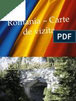 Romania - Carte de Vizita ( Ppt )
