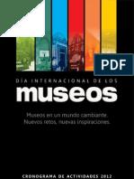 Cronograma Día Internacional de los Museos - Perú 2012