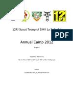 Annual Camp 2012