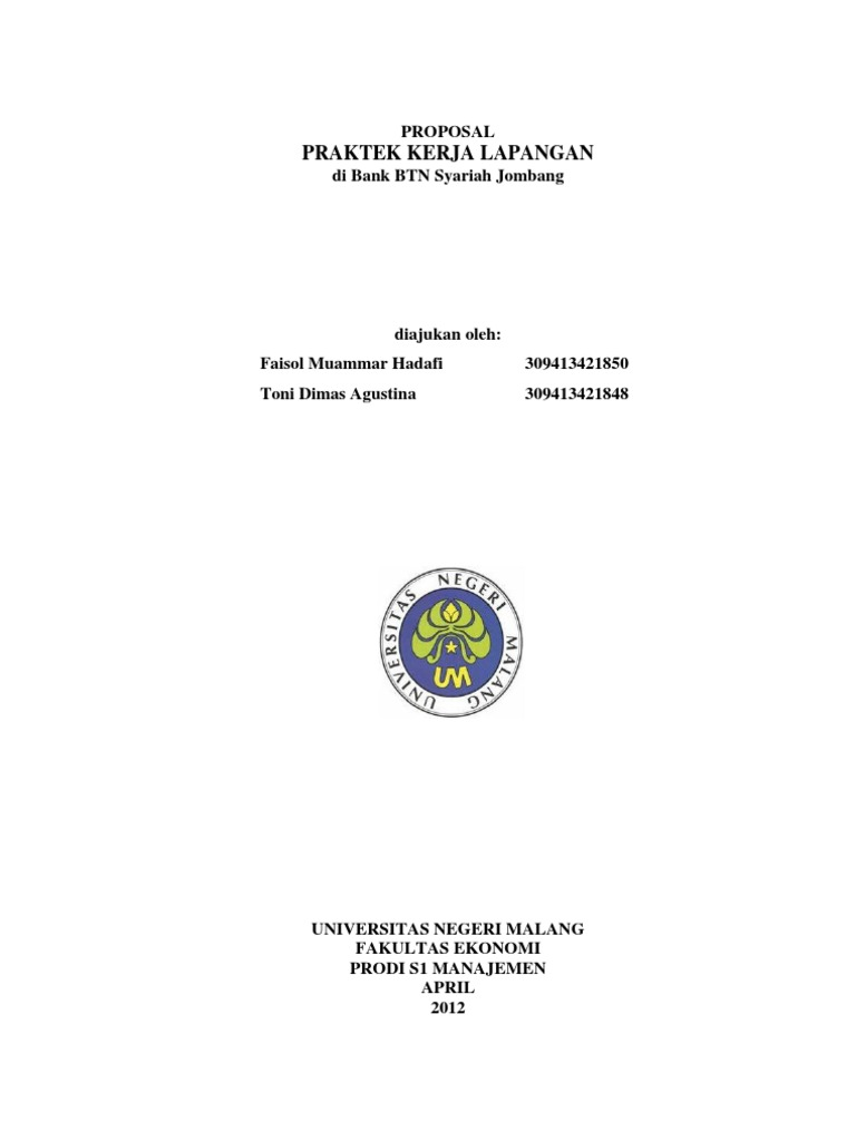 Contoh Laporan Pkl Di Bank Syariah Kumpulan Contoh Laporan