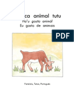 A nica animal tutu - Trilingual Early Grade Reader in the Fataluku Language