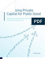 Mobilizing Private Capital for Public Good Report_YearOne