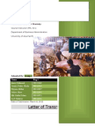 Beta Calculation & Analysis of Bangladesh Leather Industry