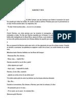 ANEXO IV. COMPRENSIÓN Y EXPRESIÓN ESCRITA. NARCISO Y ECO