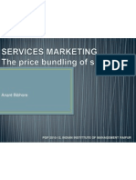 Price Bundling - Services Marketing