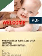 Seminar Presentation Hospital Child