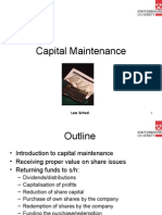 Capital Maintenance