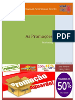 As promoçoes