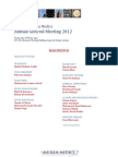 2012 AGM Manifestos