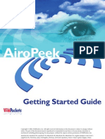 AiroPeek Gettingstarted