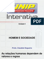Homem e Sociedade D.online Slides