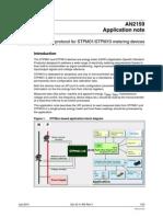 SPI Protocol for STPM01_STPM10 Metering Devices