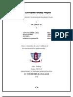 35579365 Enterprenuership Project for Garments Sticthing Unit