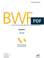 EBU Broadcast Wave Format
