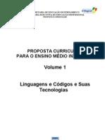 Proposta Curricular Linguagens - Final-1