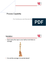 6.4 Process Capability