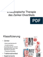 Endoskopische Therapie