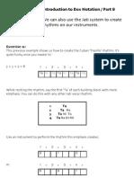 Box Notation 8