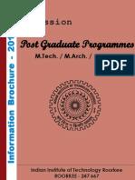 Iitr PG Information Brochure-2012