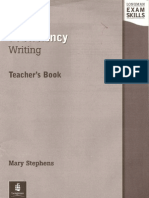 Longman Exam Skills Proficiency Writing Teacher's Book