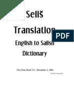Selish Dictionary Online