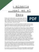 La mineria ilegal en el Perú
