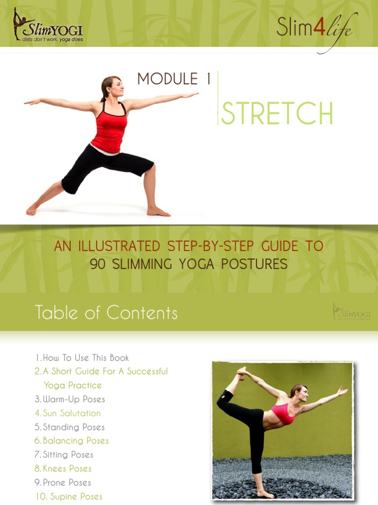 Stretch An Ullustrated Step By Guide To 90 Slimming Yoga Postures