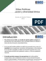 Elite y discriminación indígena UDP 2011